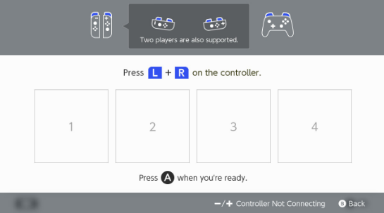 Nintendo Switch Controllers Not Working