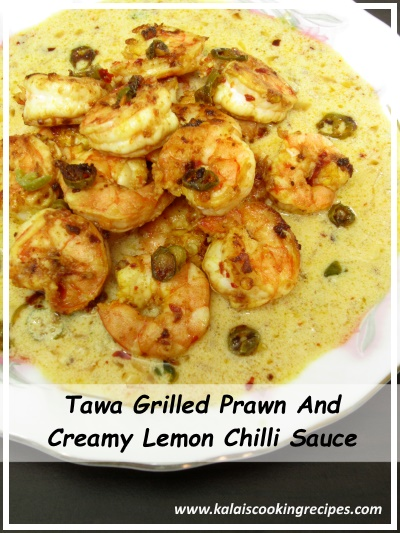 lemon chillli prawn