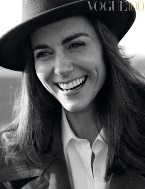 "Kate Middleton in ""Vogue"" UK's June 2016 issue. Photo: Josh Olins"