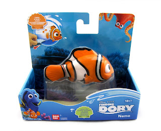 finding dory swimming bath toys bandai nemo
