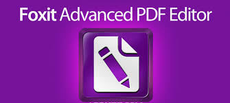 Foxit Advanced PDF Editor 3 Full Version