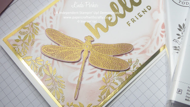 Dragonfly Dreams and Hello Friend, Linda Parker, UK Independent Stampin' Up! Demonstrator