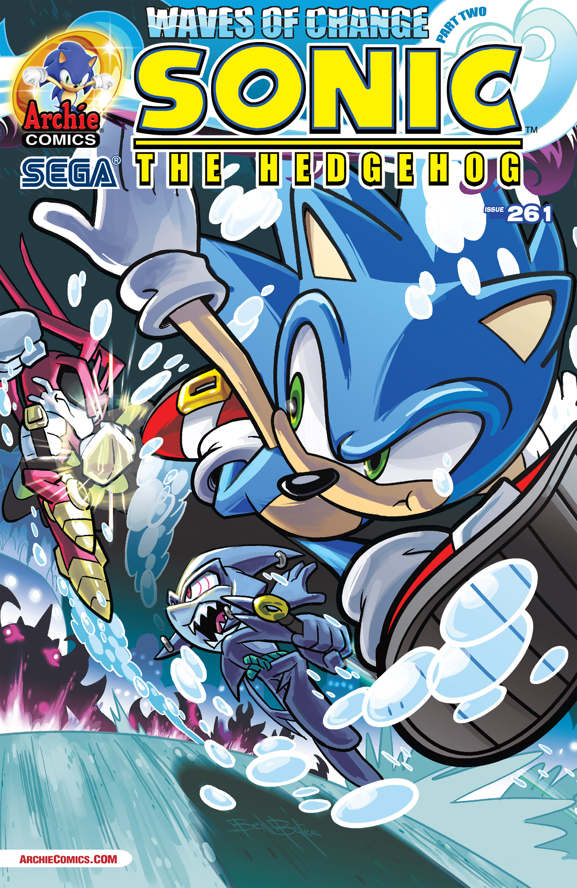 Read Online Sonic The Hedgehog Comic Issue 261