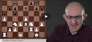 DeepMind's AlphaZero on Carlsen-Caruana Games 1, 3, 5 & 8 (Sicilian Defence)