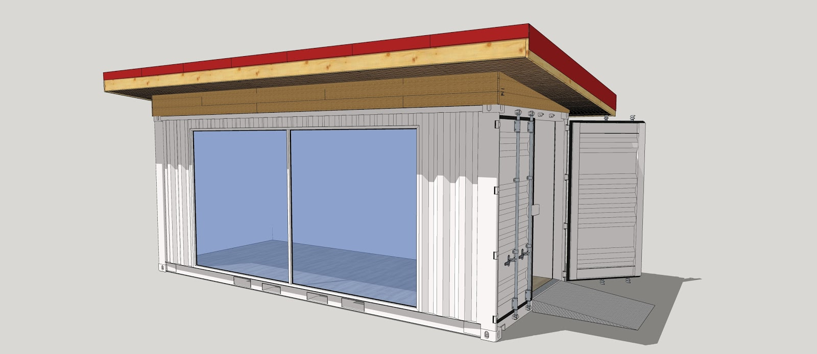 Am nagements ext rieurs carports containers maritimes for Container isolation