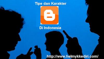 Tipe dan karakter blogger di indonesia