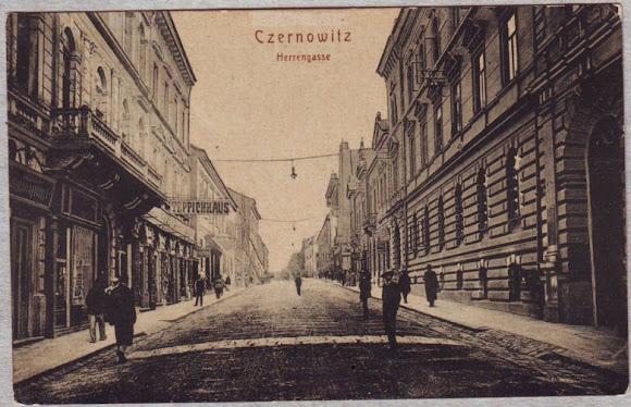 Чернівці. Панська вулиця. Czernowitz Postcard Album