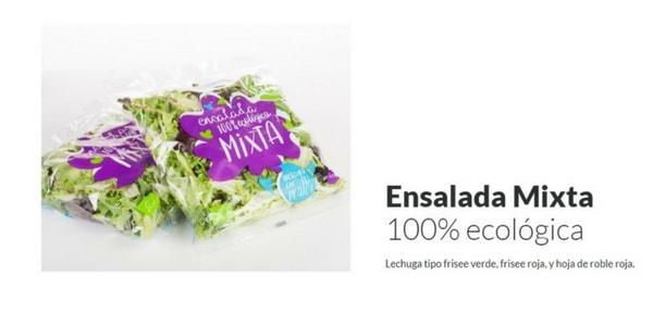 ensalada ecologica mista ecoama