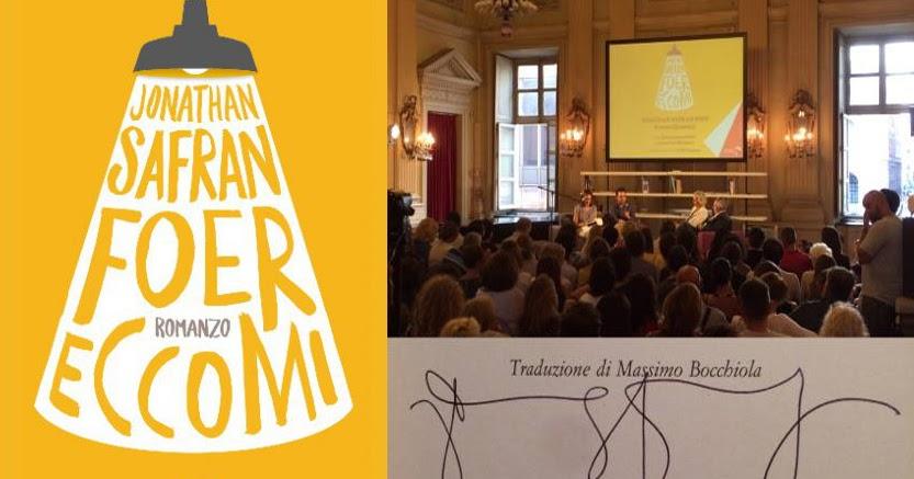 """Jonathan Safran Foer presenta """"Eccomi"""" @ Circolo dei lettori di Torino"""