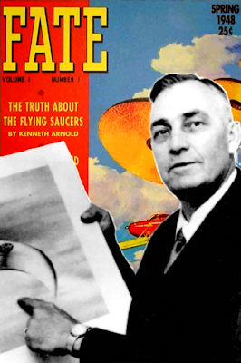 UFOs, Kenneth Arnold and the American Bible
