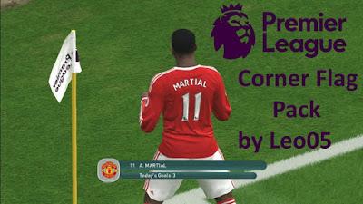 PES 2016 Premier League Corner Flag Pack by Leo05