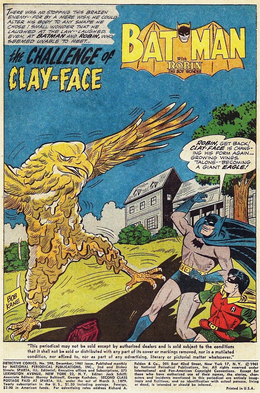 Detective Comics (1937) 298 Page 2