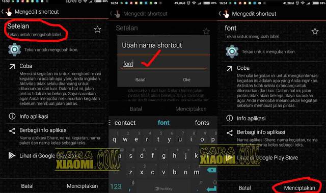 Cara Termudah Ganti Font di Semua Xiaomi MIUI 8 Tanpa Rooting