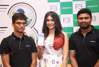 Bollywood Actress Adah Sharma Pos in White Printed Short Dress at OPPO F3 Plus Selfie Expert Mobile Launch .COM 0077.jpg