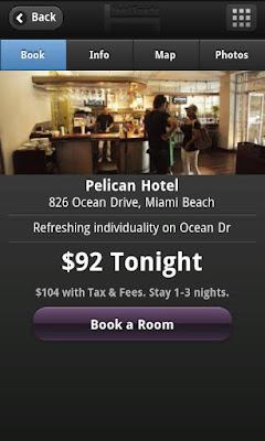HotelTonight app for Android