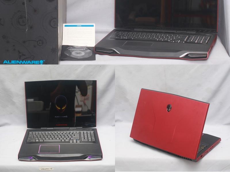 Jual Alienware M17x R3 Core I7 Bekas Fullset Jual Laptop Bekas Second Garansi Like New