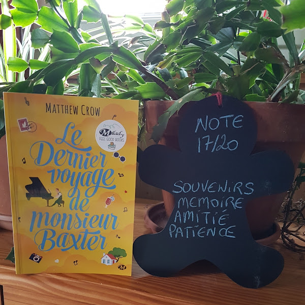 Le Dernier Voyage de monsieur Baxter de Matthew Crow