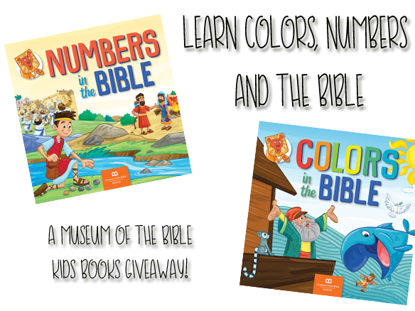 Learn Colors, Numbers AND The Bible {A Museum of the Bible Kids Book Giveaway}