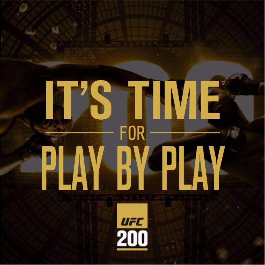 THE INTERNET IS IN AMERICA: UFC 200: Tate Vs. Nunes LIVE