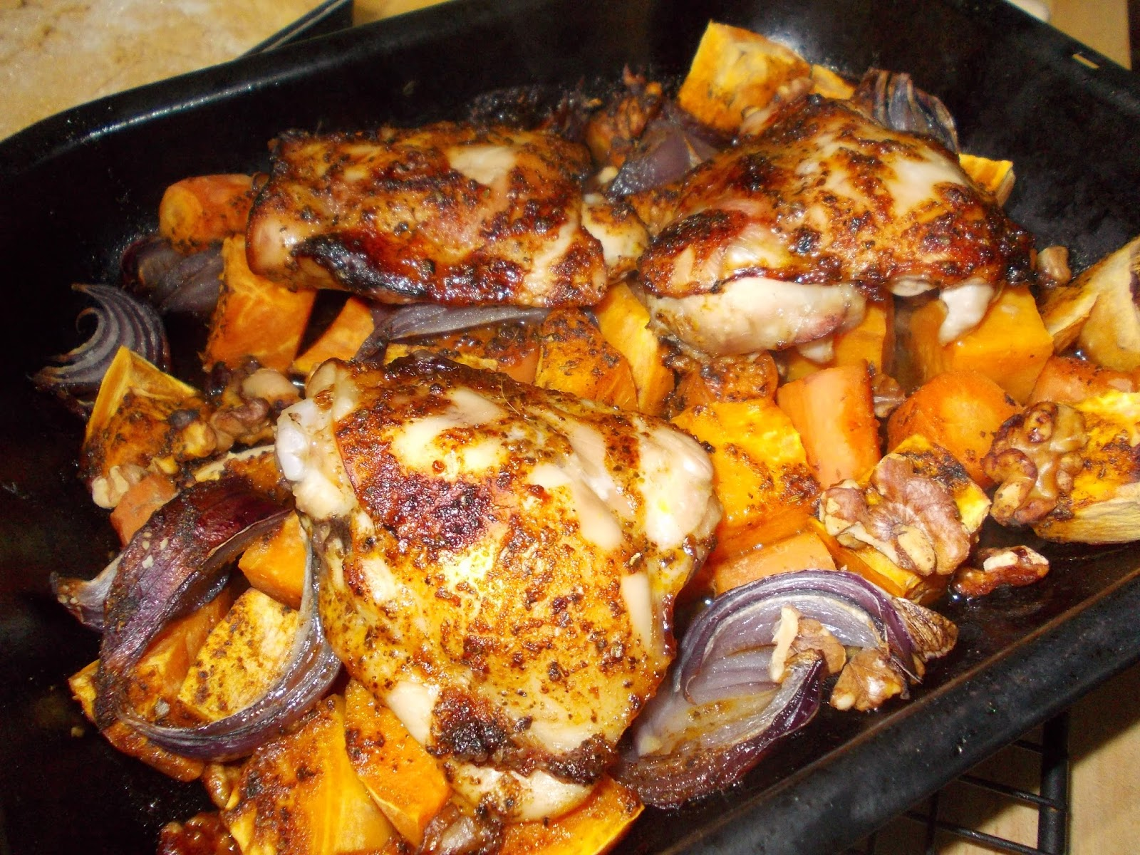 Good food great fun and gluten free cajun chicken traybake cajun chicken traybake forumfinder Image collections