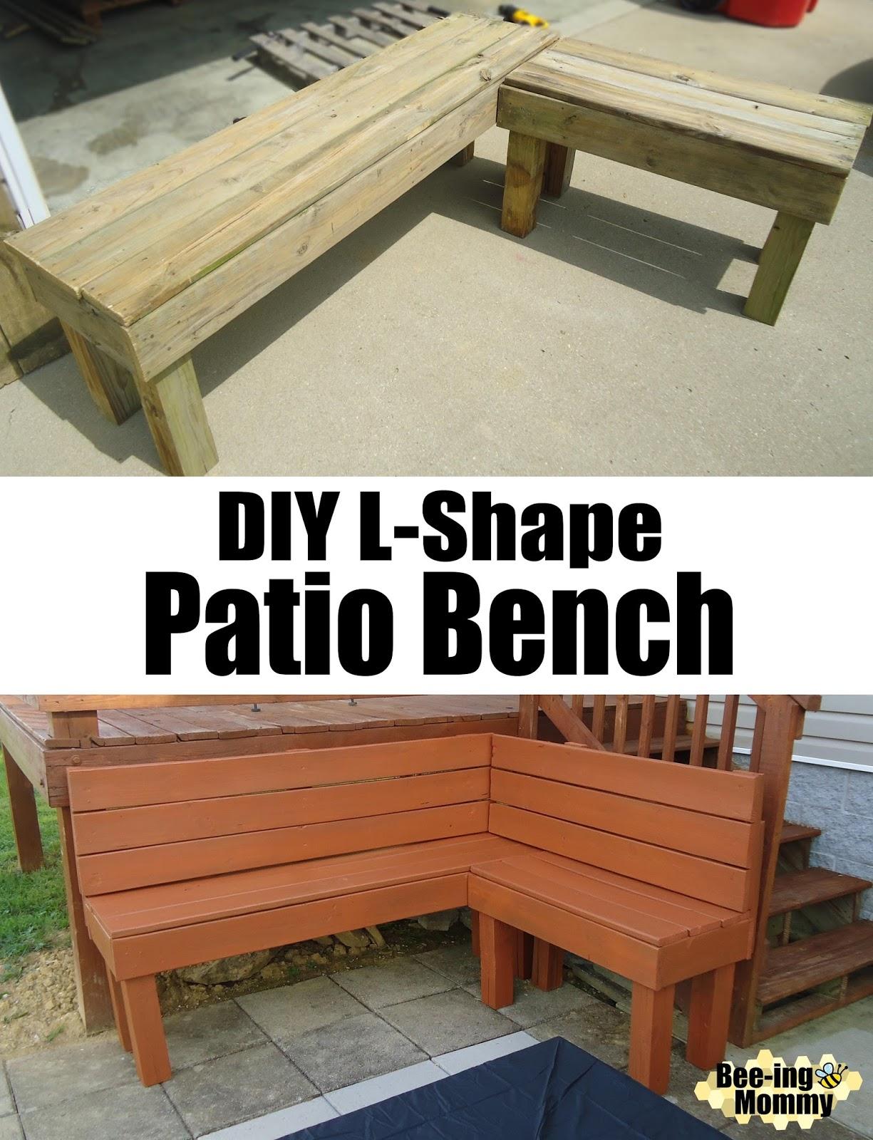 diy l shape patio