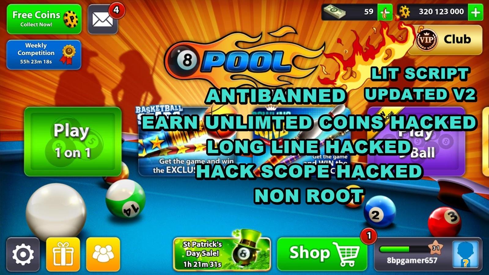 Top 10 Punto Medio Noticias | Hack 8 Ball Pool Using Game Guardian