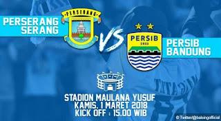 Persib Bandung vs Perserang