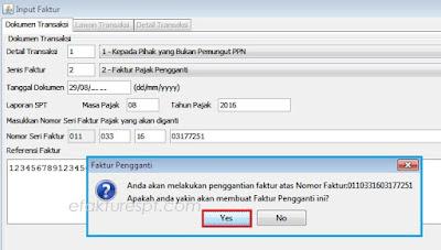 Solusi e-Faktur Salah Nama Lawan Transaksi