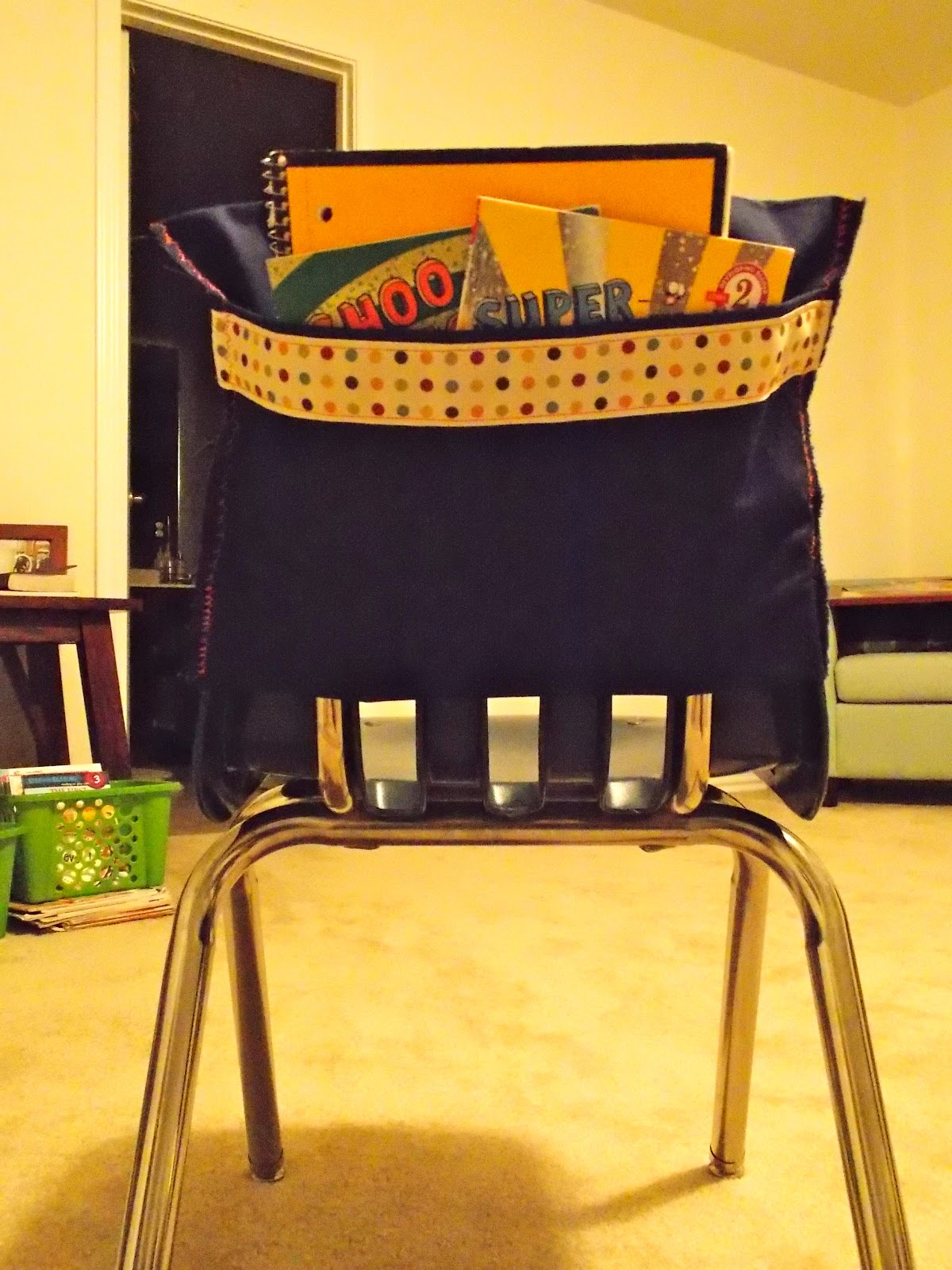 Classroom Organizer Chair Covers Reclining Captains Chairs A Day In First Grade Operation Pockets