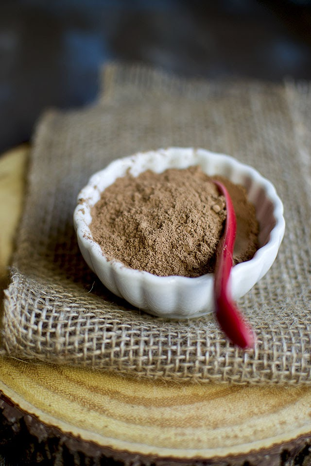 Hot Chocolate made with Raw cacao powder