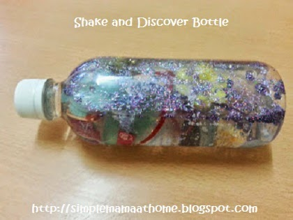 Shake and Discover Bottle