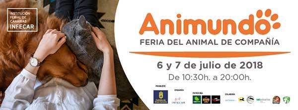 Animundo, primera feria de animales de Gran Canaria, infecar