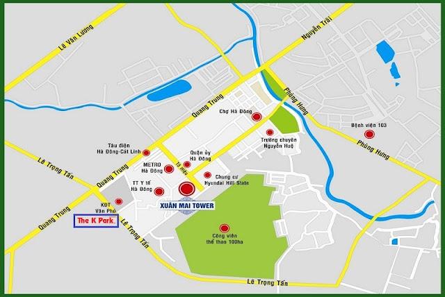 Vị Trí Dự ÁN The K Park Văn Phú