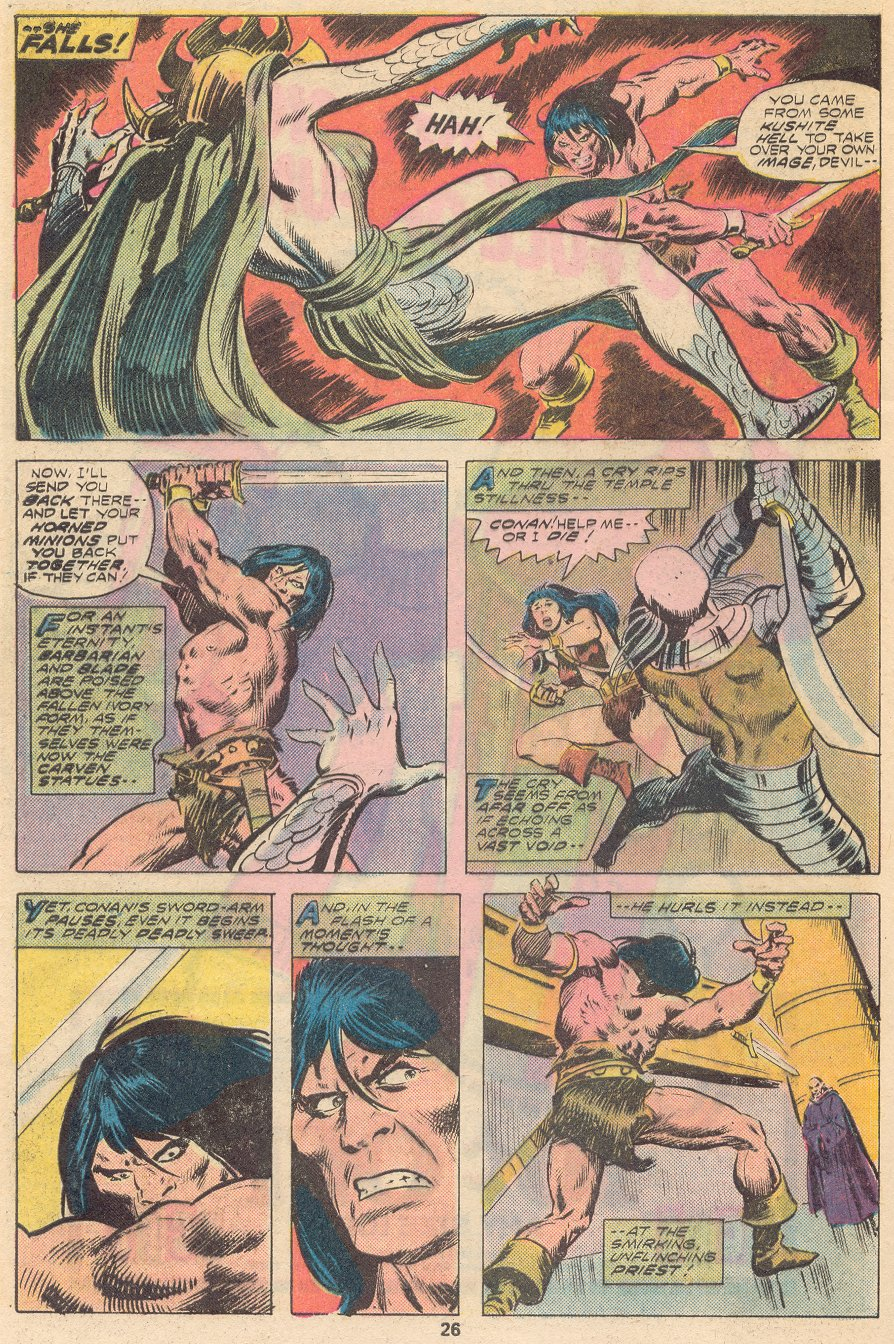 Conan the Barbarian (1970) Issue #66 #78 - English 16