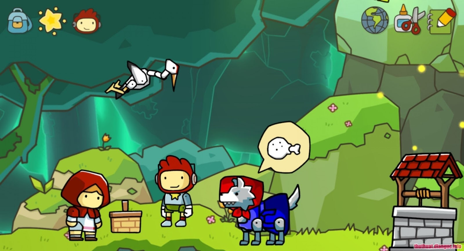 Game Scribblenauts Unlimited full crack download