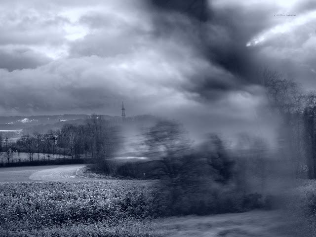 Fotografiert durch ein Prisma
