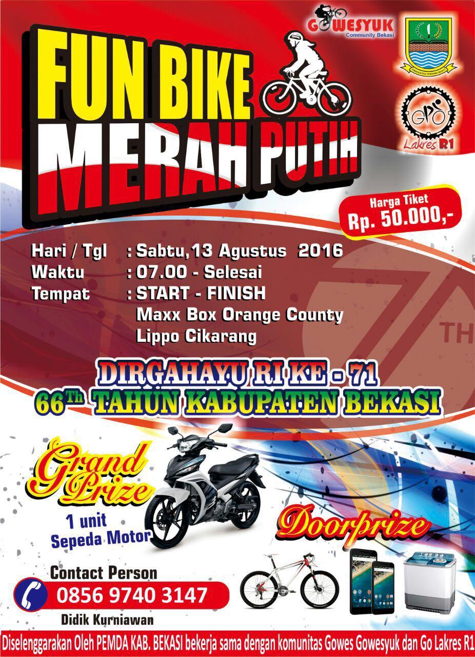 Fun Bike Festival Merah Putih – Maxx Box Lippo Cikarang