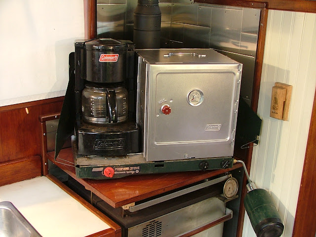 cook top oven and drip coffee maker