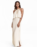 Prom Dress the Night H&M Necklace-Trim Halterneck Dress