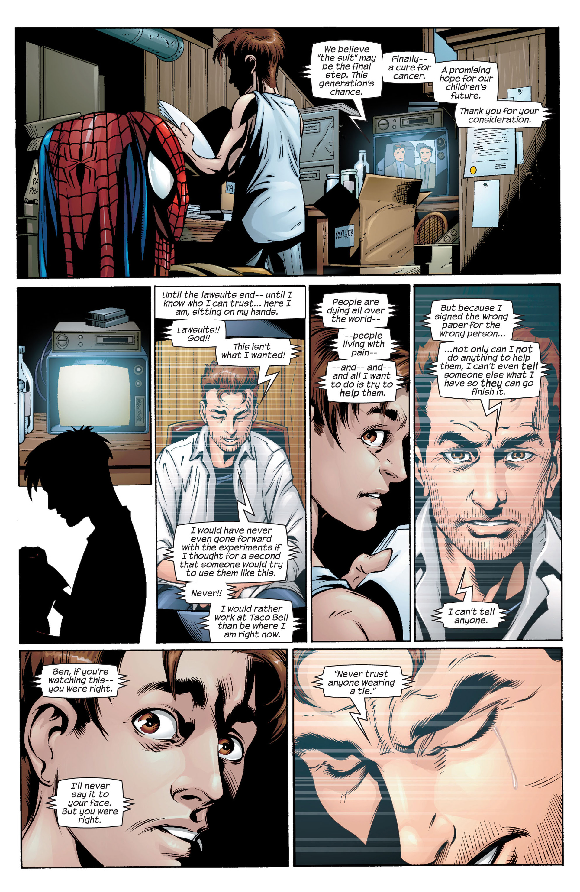 Read online Ultimate Spider-Man (2000) comic -  Issue #34 - 16
