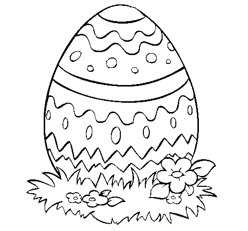 desenhos de desenhos Ovos de páscoa