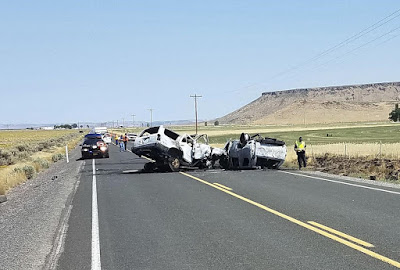 Head-on collision: Seven family members die