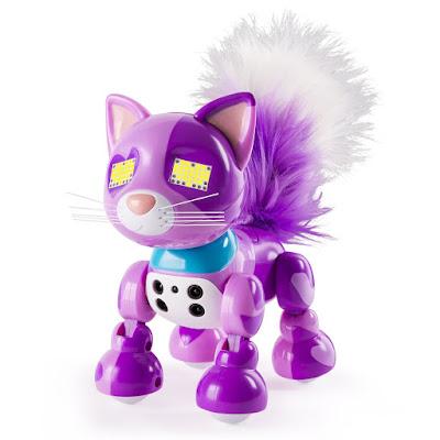 TOYS : JUGUETES - ZOOMER Meowzies Viola : Gata - Gato | Mascota Electronica Interactiva Producto Oficial 2016 | A partir de 5 años Comprar en Amazon España & buy Amazon USA