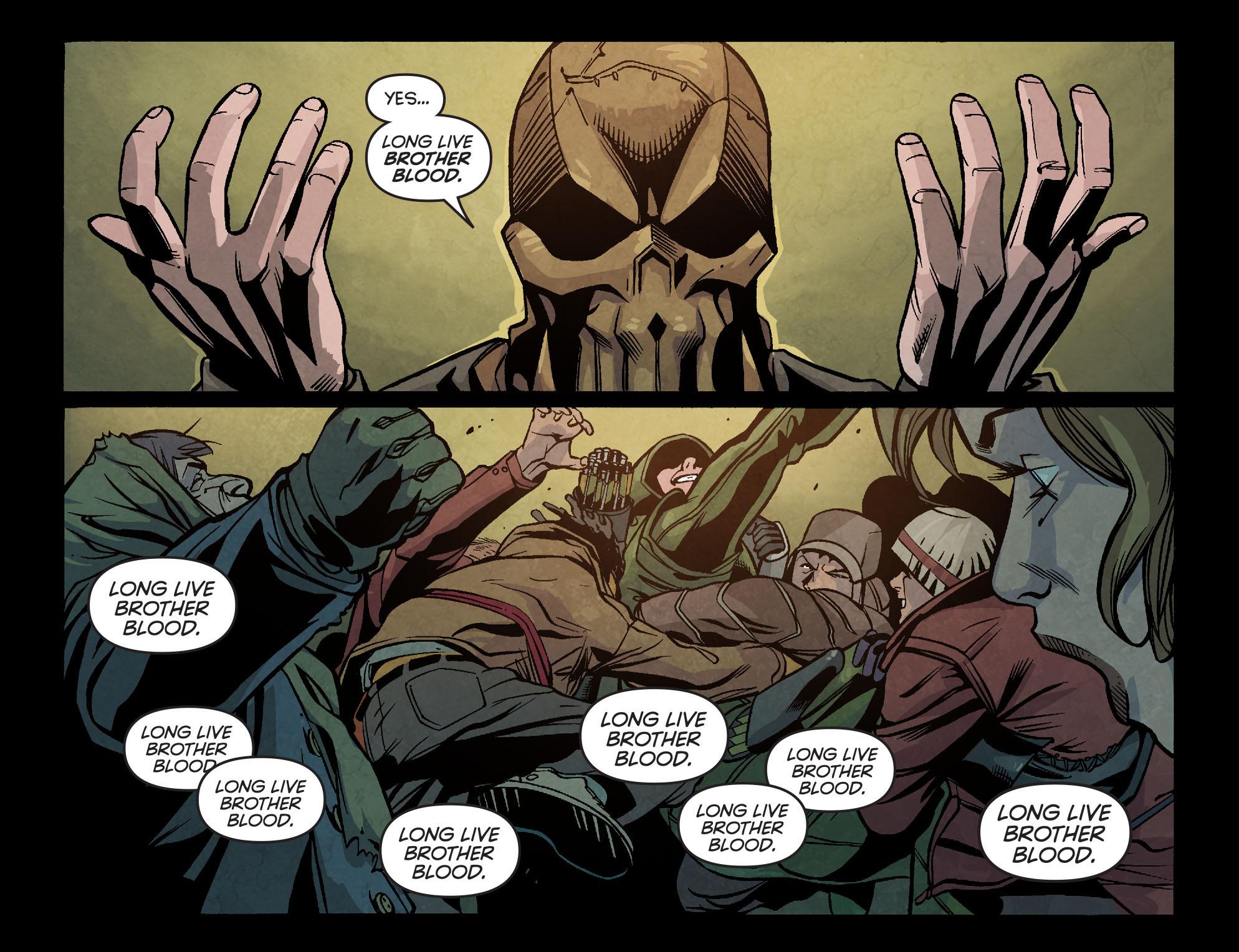 Read online Arrow: Season 2.5 [I] comic -  Issue #6 - 4