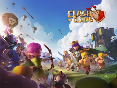 Clash of Clans Mod Apk Terbaru 9.434.30 Unlimited Gems/Gold /Elixir