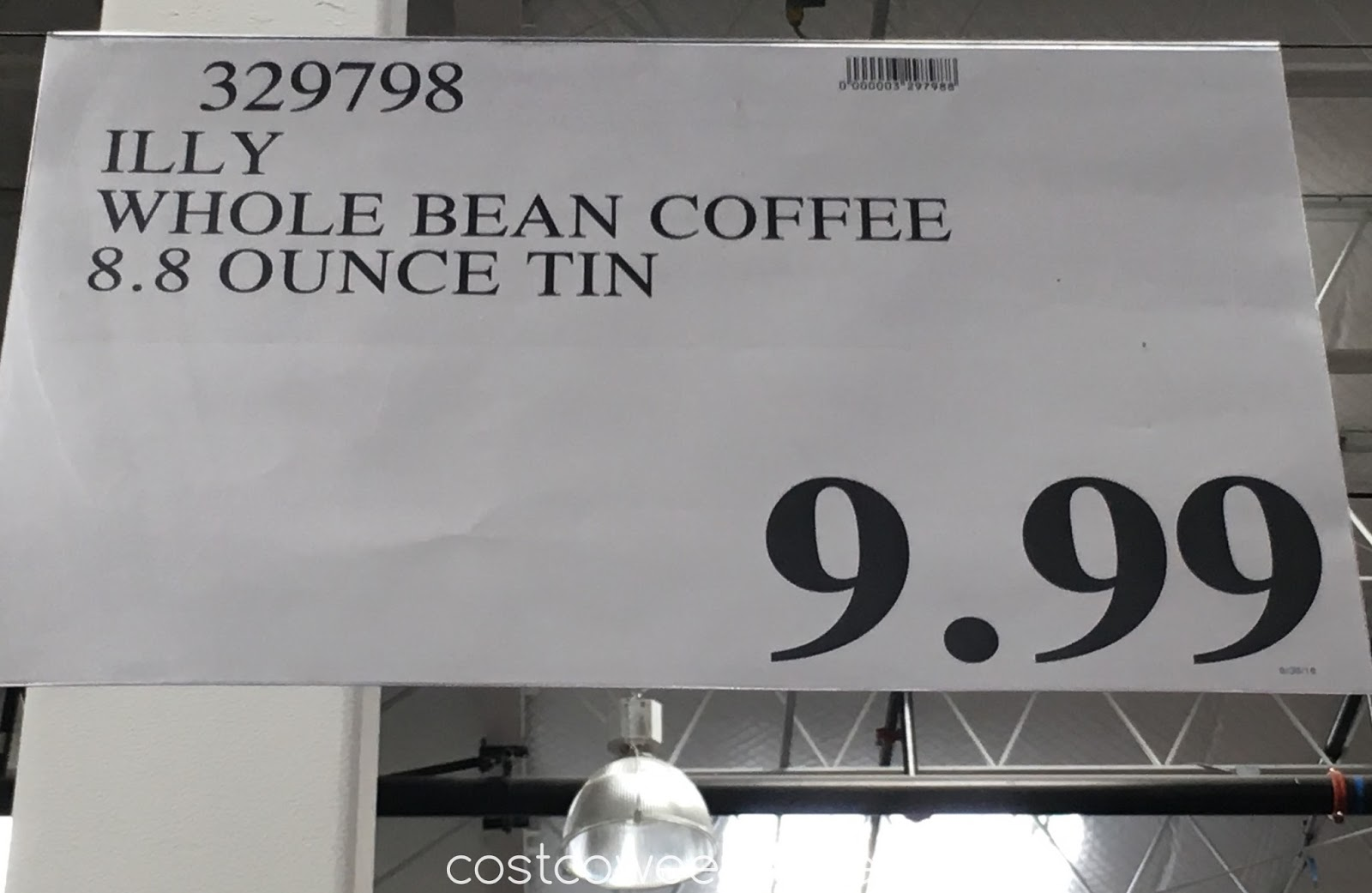 Deal for an 8.8 oz tin of Illy Whole Bean Coffee at Costco
