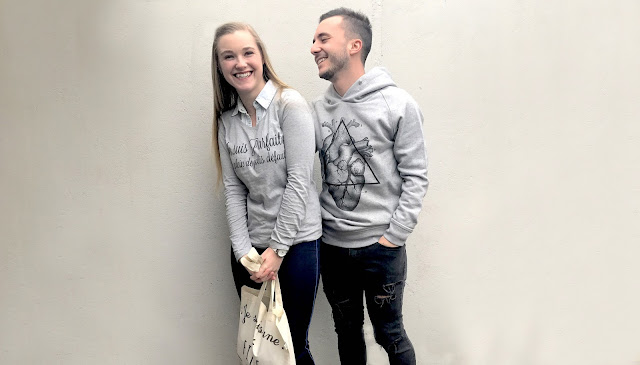 Look avec un t-shirt à message - ArteCita ECO Fashion