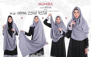 Hijab Munira MD 48 Koleksi jilbab syari terbaru dewasa