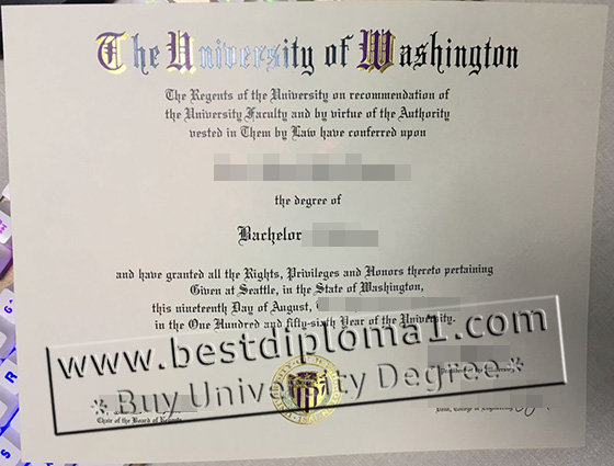 buy fake UW diploma