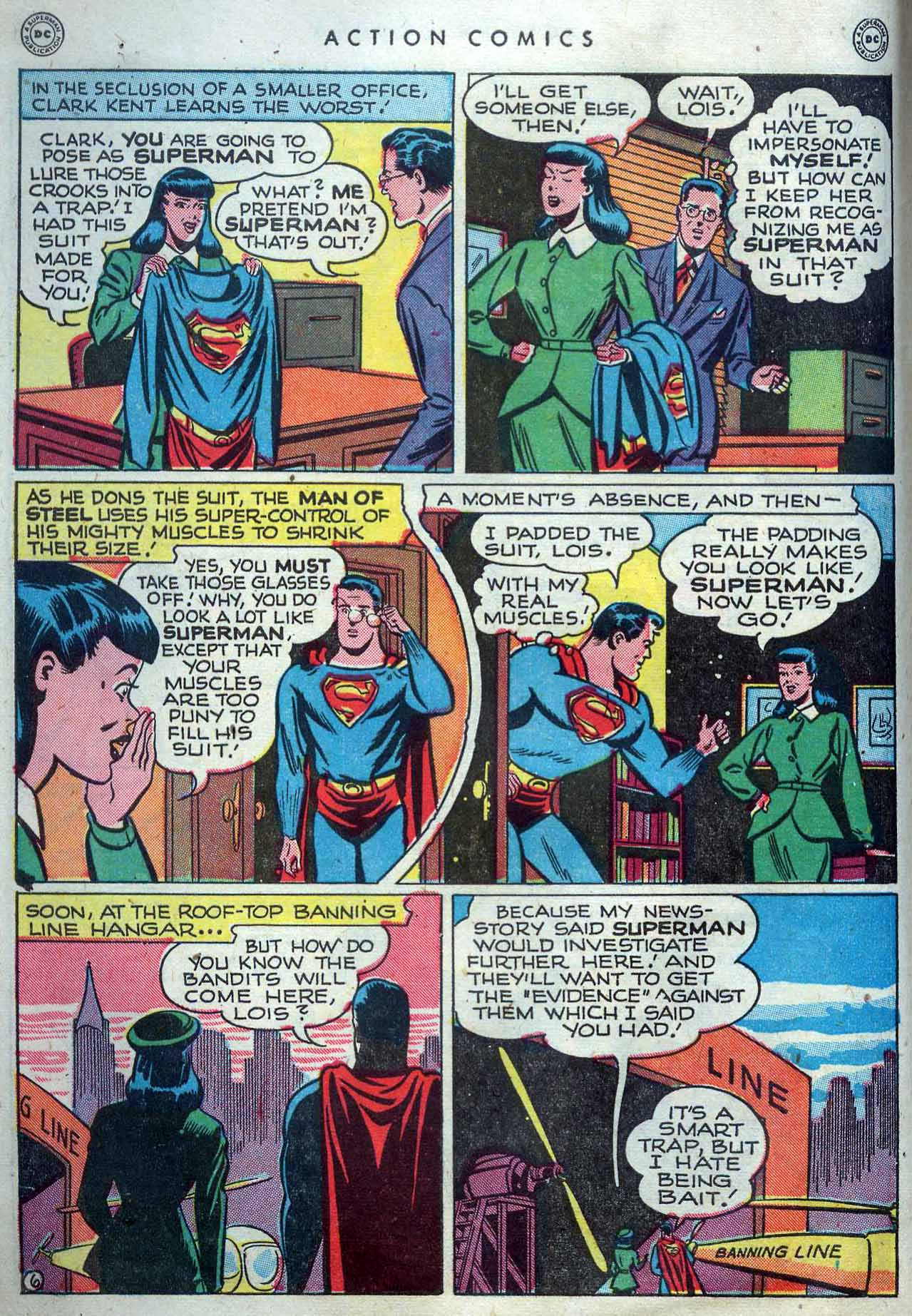 Read online Action Comics (1938) comic -  Issue #119 - 8